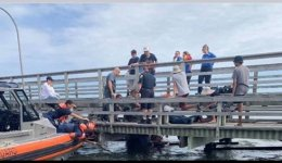 Rescue teams help bring kayakers to safety.jpg